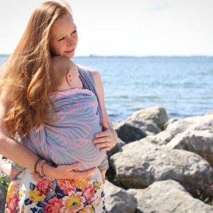 Слинги: как выбрать для новорожденных лучшую модель. 95 фото одежды для переноски детей